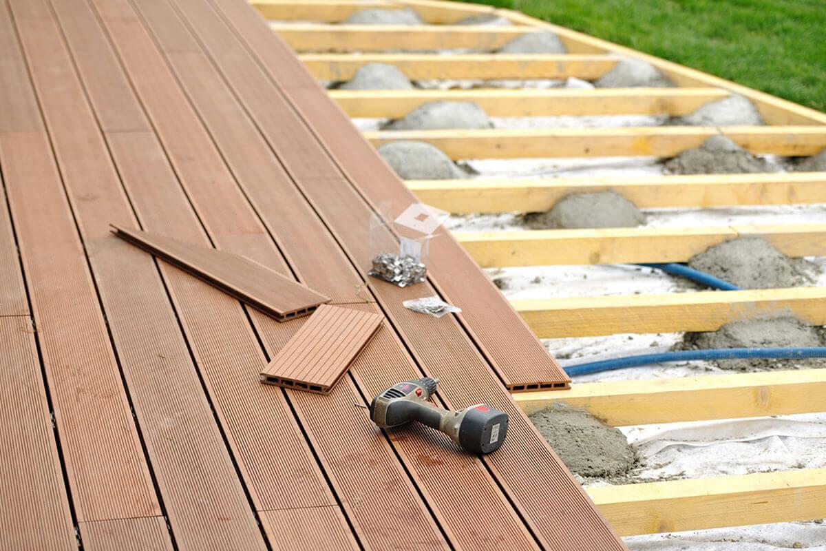 travaux de terrasse et veranda