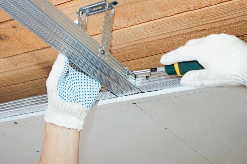 prix de pose faux plafond