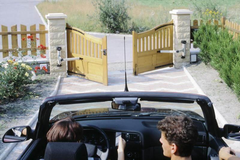 prix installation d un portail exterieur