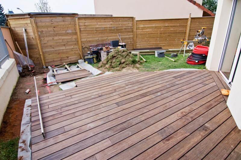 tarif installation terrasse bois
