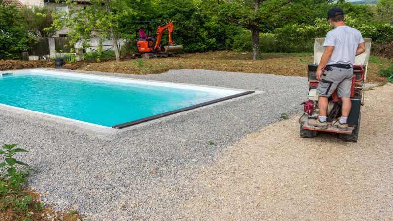 prix piscine enterree