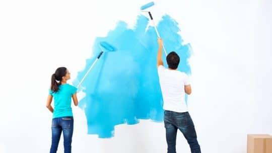 prix des travaux de peinture