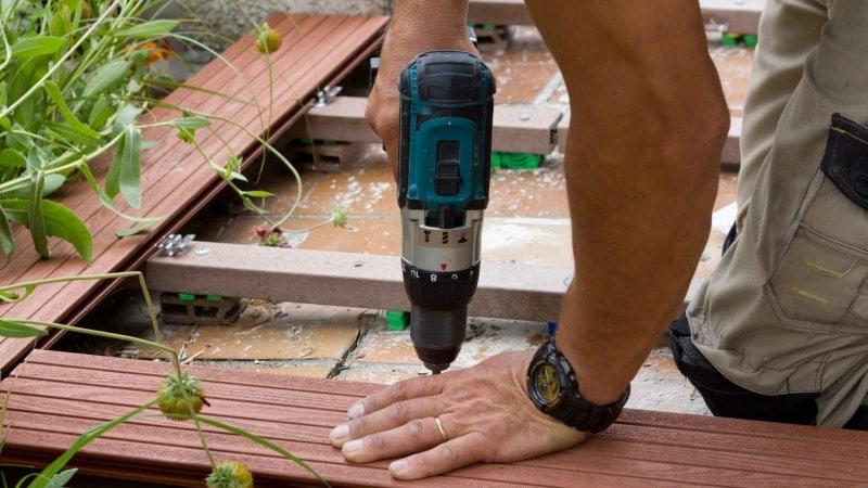 prix terrasse en bois composite