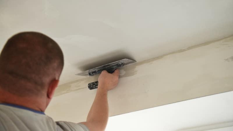 prix retirer crépi plafond