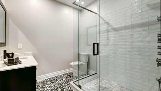 Prix de pose d'une douche
