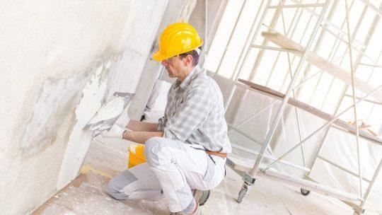enduit prix renovation mur interieur